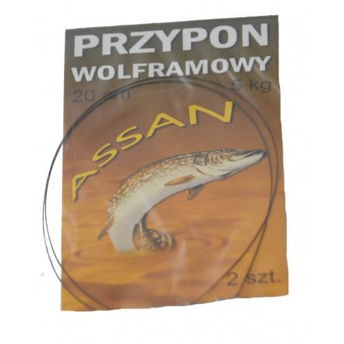 PRZYPON WOLFRAMOWY 30 cm 5 kg